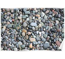 Rocky Beach, Deception Point, Washington Poster