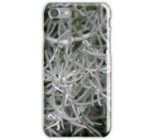 White Plant iPhone Case/Skin