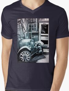 Like Old Times Mens V-Neck T-Shirt