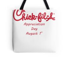 Chick-Fil-A Appreciation Day Tote Bag
