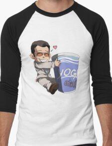 Michael and His Yogurt Men's Baseball ¾ T-Shirt