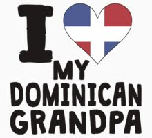 I Heart My Dominican Grandpa Kids Clothes