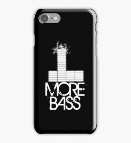 More Bass iPhone Case/Skin