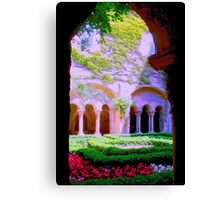 the gates to antiquity Canvas Print