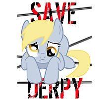 Save Derpy Photographic Print