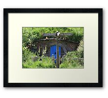 Streets of The Shire. Framed Print