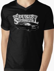 Dukes of Supernatural Mens V-Neck T-Shirt