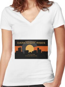 Colorado Shooting Women's Fitted V-Neck T-Shirt