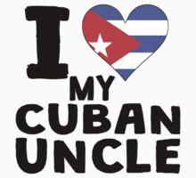 I Heart My Cuban Uncle Kids Tee