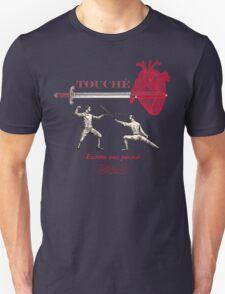 Fencing Touche Heart T-Shirt