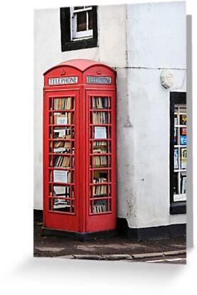 Book Box, Milnathort, Scotland by MelissaSue