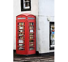 Book Box, Milnathort, Scotland Photographic Print
