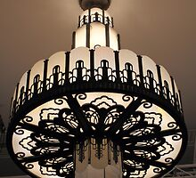 Art Deco - Myer Mural Hall - Chandelier by Anthony Ogle