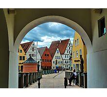 Ronntic road Germany - Donauworth Photographic Print