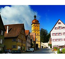 Romantic road Germany - Dinkelsbuhl Photographic Print