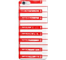 iPiano Red iPhone Case/Skin
