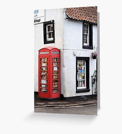 Book Lovers, Milnathort, Scotland Greeting Card