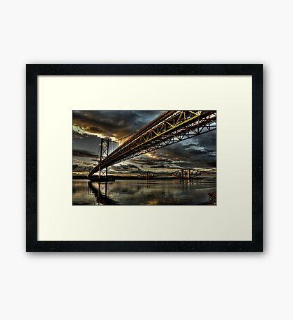Steel Giants Framed Print