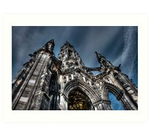 Gothic Heights Art Print