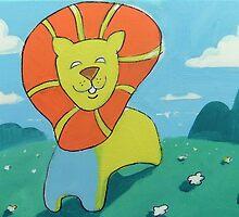 sunshine lion by Matthew Scotland