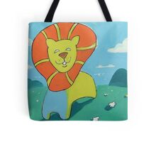 sunshine lion Tote Bag