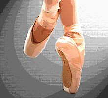 Pointe Shoes by PerkyBeans