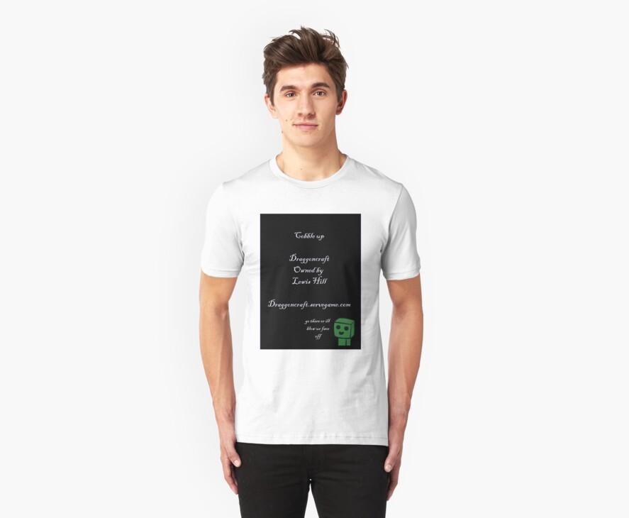 Draggoncraft T-Shirt by computerwiz