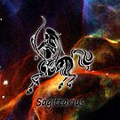 Sagittarius iPhone case design by Dennis Melling
