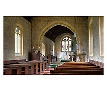 Stanway Church Photographic Print