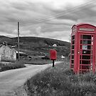 Old telephone box Isle of Skye by xenostral