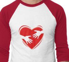 I'll Hug You Forever  Men's Baseball ¾ T-Shirt