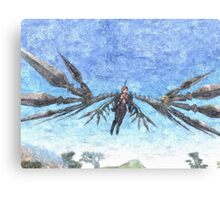 Irons sword wings Canvas Print