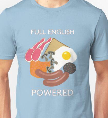 Full English Powered. Unisex T-Shirt