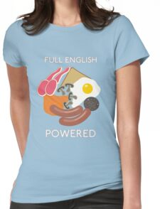 Full English Powered. Womens Fitted T-Shirt