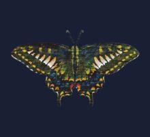 Butterfly Art One Piece - Long Sleeve