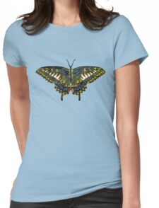 Butterfly Art Womens Fitted T-Shirt