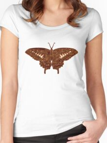 Butterfly Art 3 Women's Fitted Scoop T-Shirt