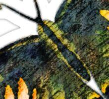 Butterfly Art 4 Sticker