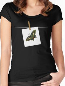 Butterfly Art 5 Women's Fitted Scoop T-Shirt