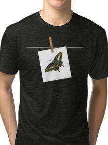 Butterfly Art 5 Tri-blend T-Shirt