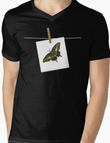 Butterfly Art 5 Mens V-Neck T-Shirt