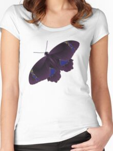 Butterfly Art 7 Women's Fitted Scoop T-Shirt