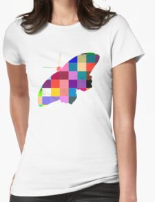 Butterfly Art 9 Womens Fitted T-Shirt