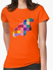 Butterfly Art 9 Womens Fitted T-Shirt