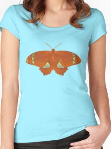 Butterfly Art 10 Women's Fitted Scoop T-Shirt