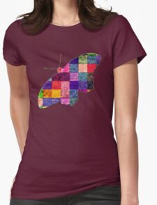 Butterfly art 12 Womens Fitted T-Shirt