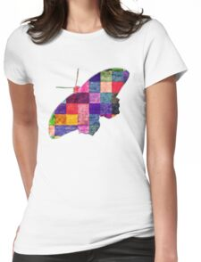 Butterfly art 12 Womens Fitted T-Shirt