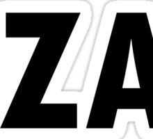 #ZAX - BBC Casualty Sticker