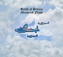 Battle of Britain Memorial Flight iPhone Case by Catherine Hamilton-Veal  ©