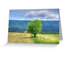 Farm Tree Greeting Card